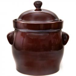 Fermenting crock pot with lid and stone weight - 20L