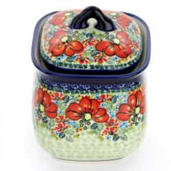 Container with a lid