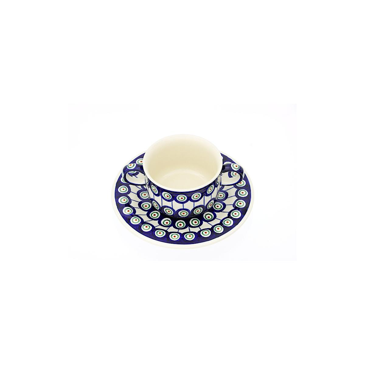 Soup Bowl With Saucer