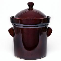 Hermetic pot with lid - 5l